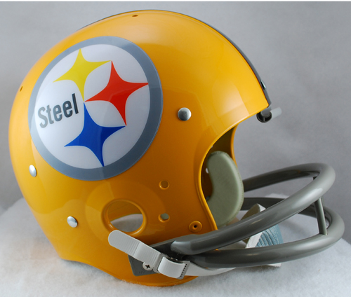 Pittsburgh Steelers 1962 TK Throwback Football Helmet