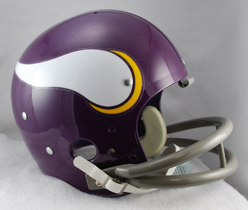Minnesota Vikings 1961 to 1979 TK Throwback Football Helmet