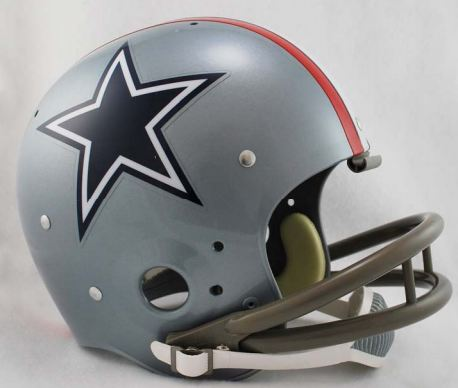 Dallas Cowboys 1976 TK Throwback Football Helmet