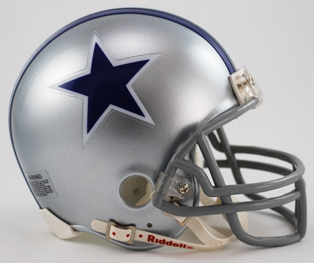 Dallas Cowboys 1964 to 1966 Riddell Mini Replica Throwback Helmet