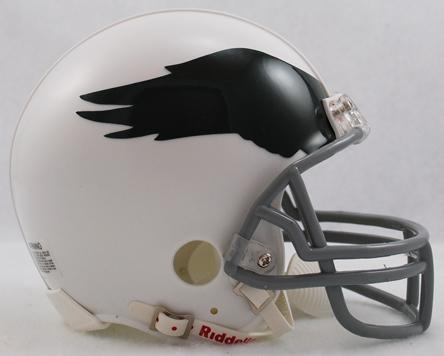 Philadelphia Eagles 1969 to 1973 Riddell Mini Replica Throwback Helmet