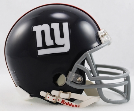 New York Giants 1961 to 1974 Riddell Mini Replica Throwback Helmet