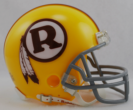 Washington Redskins 1970 to 1971 Riddell Mini Replica Throwback Helmet