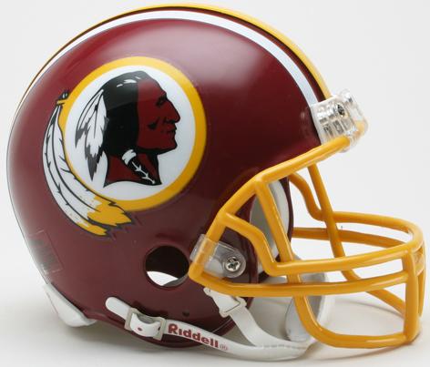 Washington Redskins 1982 Riddell Mini Replica Throwback Helmet