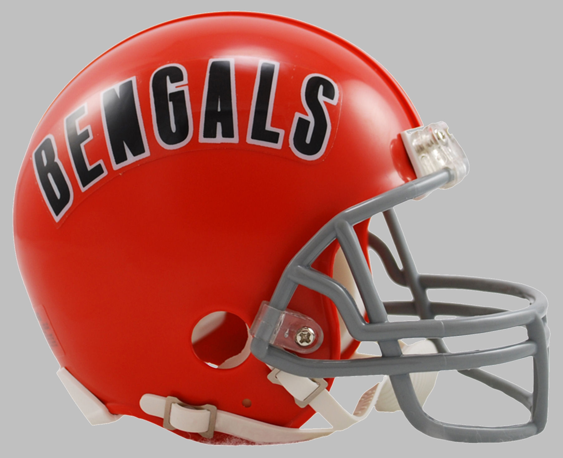 Cincinnati Bengals 1968 to 1979 Riddell Mini Replica Throwback Helmet