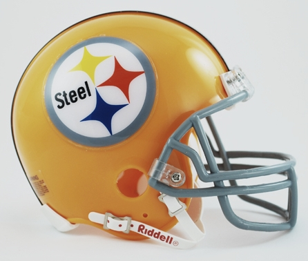 Pittsburgh Steelers 1962 Riddell Mini Replica Throwback Helmet