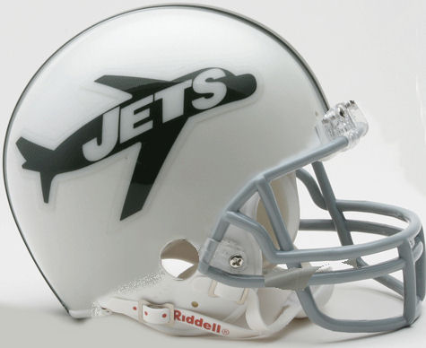 New York Jets 1963 Riddell Mini Replica Throwback Helmet