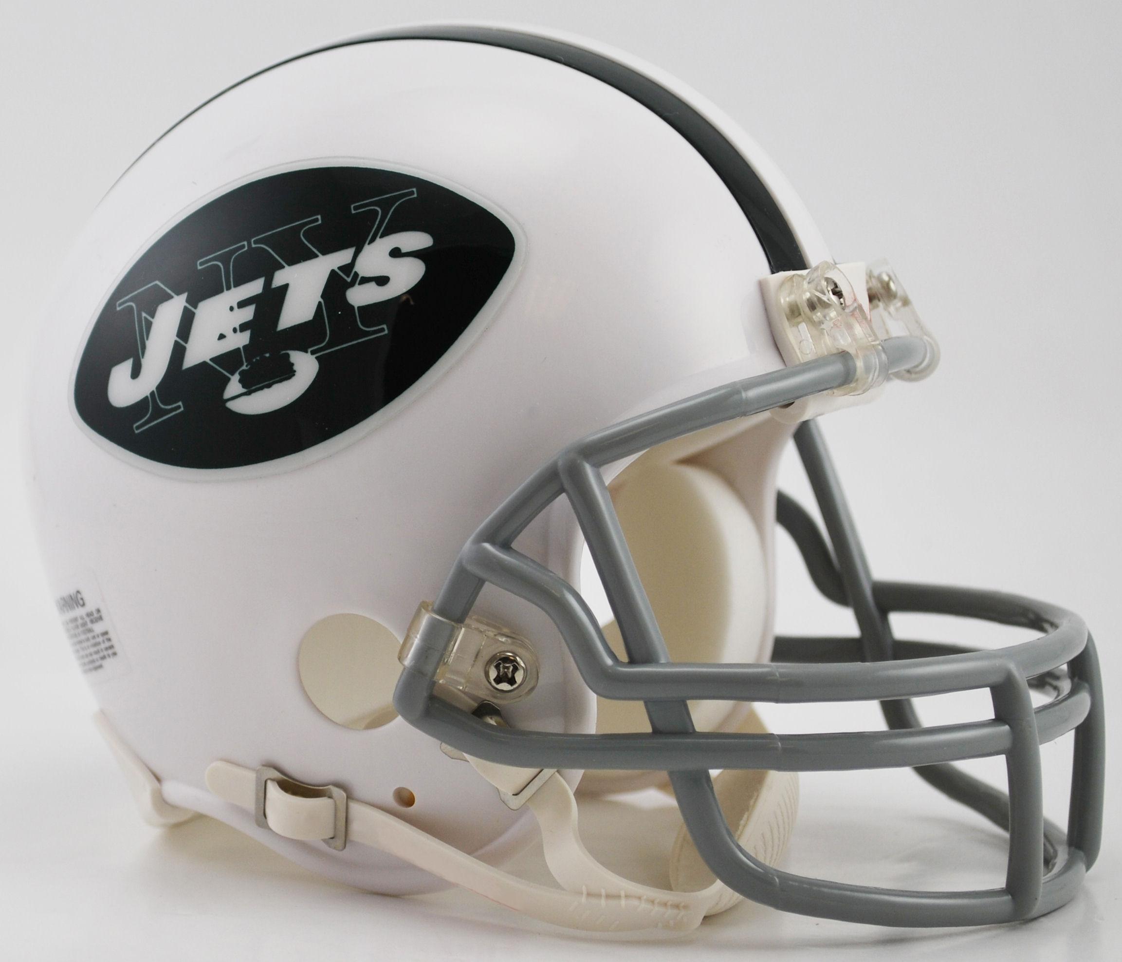 New York Jets 1965 to 1977 Riddell Mini Replica Throwback Helmet