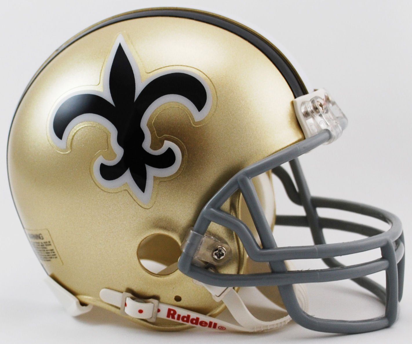 New Orleans Saints 1967 to 1975 Riddell Mini Replica Throwback Helmet