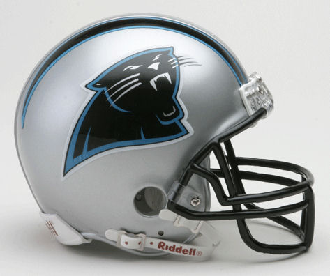 Carolina Panthers 1995 to 2011 NFL Mini Football Helmet