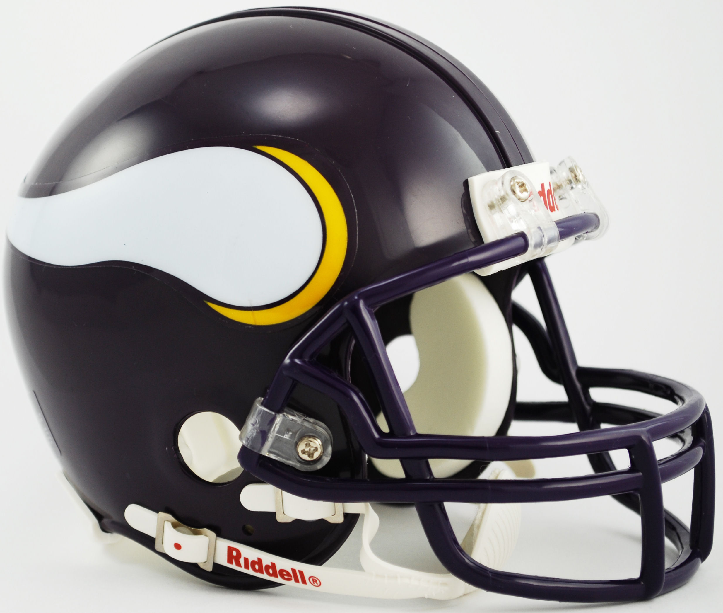 Minnesota Vikings 1983 to 2001 Riddell Mini Replica Throwback Helmet