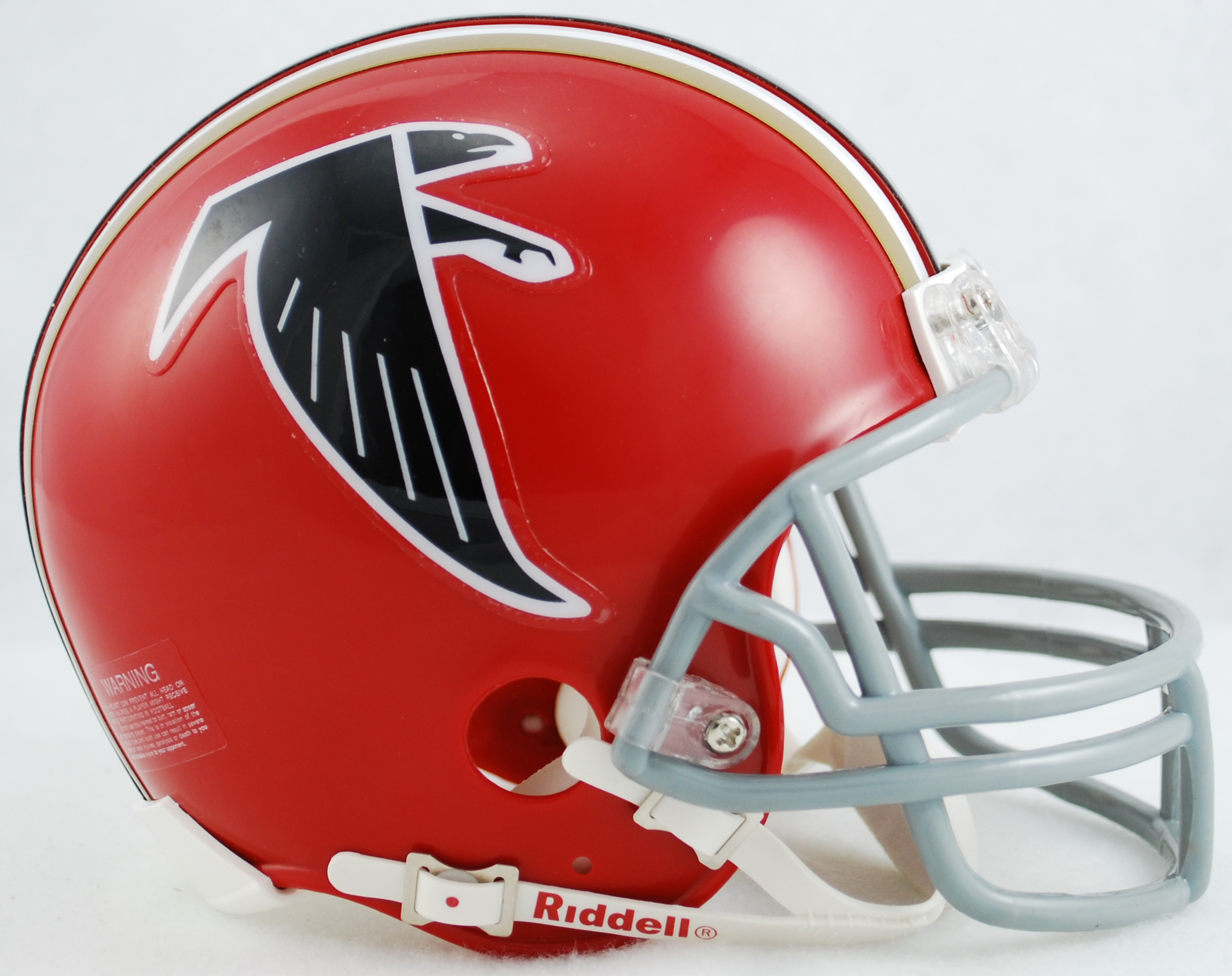 Atlanta Falcons 1966 to 1969 Riddell Mini Replica Throwback Helmet