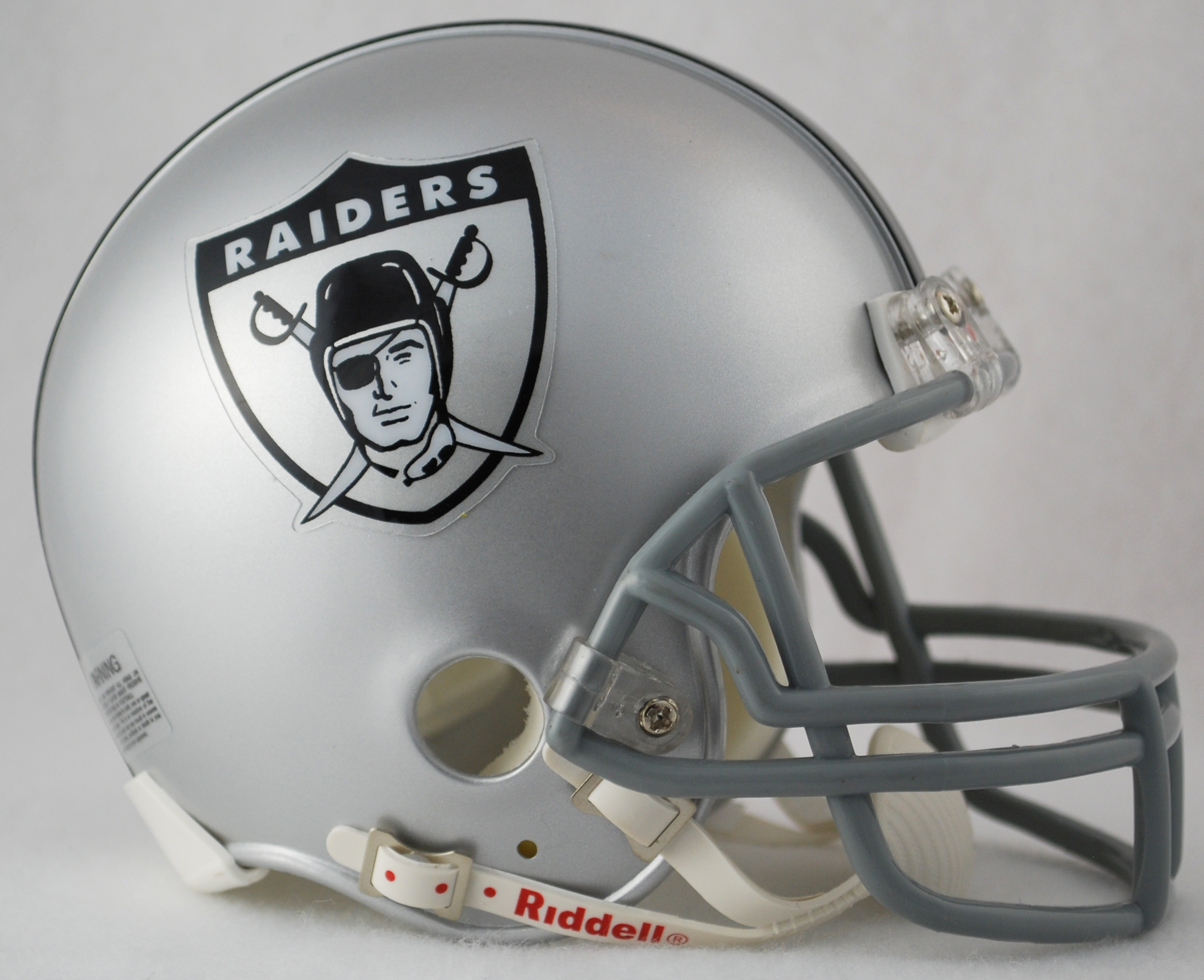 Oakland Raiders 1963 Riddell Mini Replica Throwback Helmet