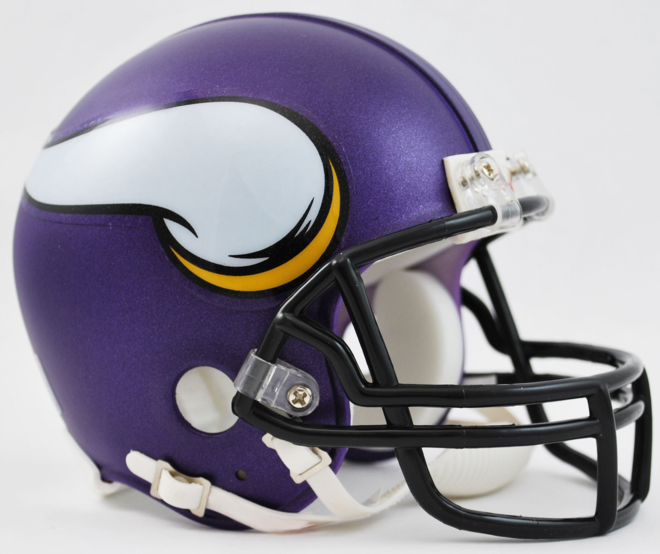 Minnesota Vikings NFL Mini Football Helmet <B>Satin Purple</B>