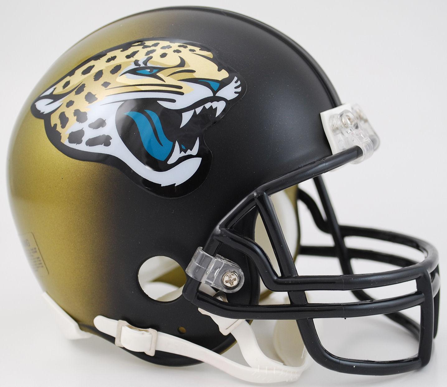 Jacksonville Jaguars 2013 to 2017 Mini Replica Throwback Helmet