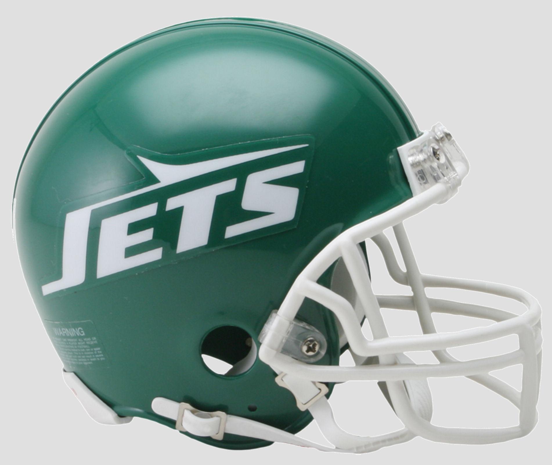 New York Jets 1978 to 1989 Riddell Mini Replica Throwback Helmet