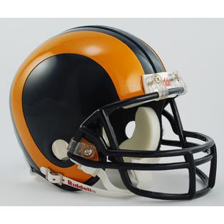 St. Louis Rams 1981 to 1999 Riddell Mini Replica Throwback Helmet
