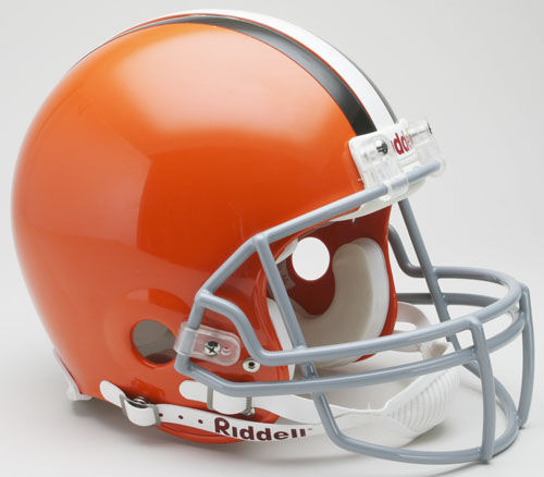 Cleveland Browns 2006 to 2014 Football Helmet