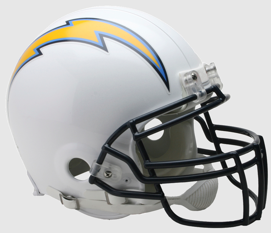 Los Angeles Chargers Football Helmet