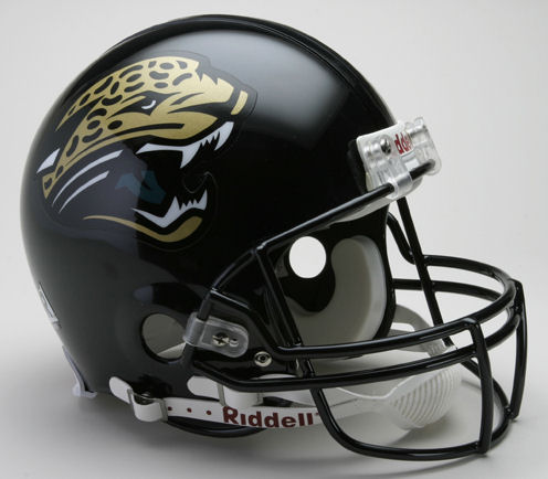 Jacksonville Jaguars <B>SPECIAL COLOR SHIFT</B> Football Helmet