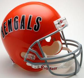 Cincinnati Bengals 1968 to 1979 Full Size Replica Throwback Helmet