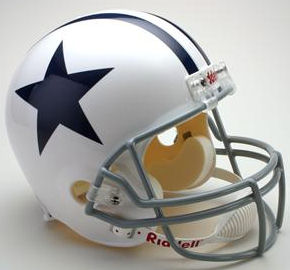 Dallas Cowboys 1960 to 1963 Full Size Replica Throwback Helmet