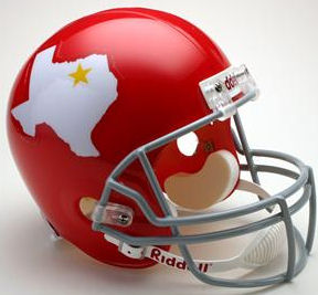 Dallas Texans 1960 to 1962 Full Size Replica Throwback Helmet Football Helmet
