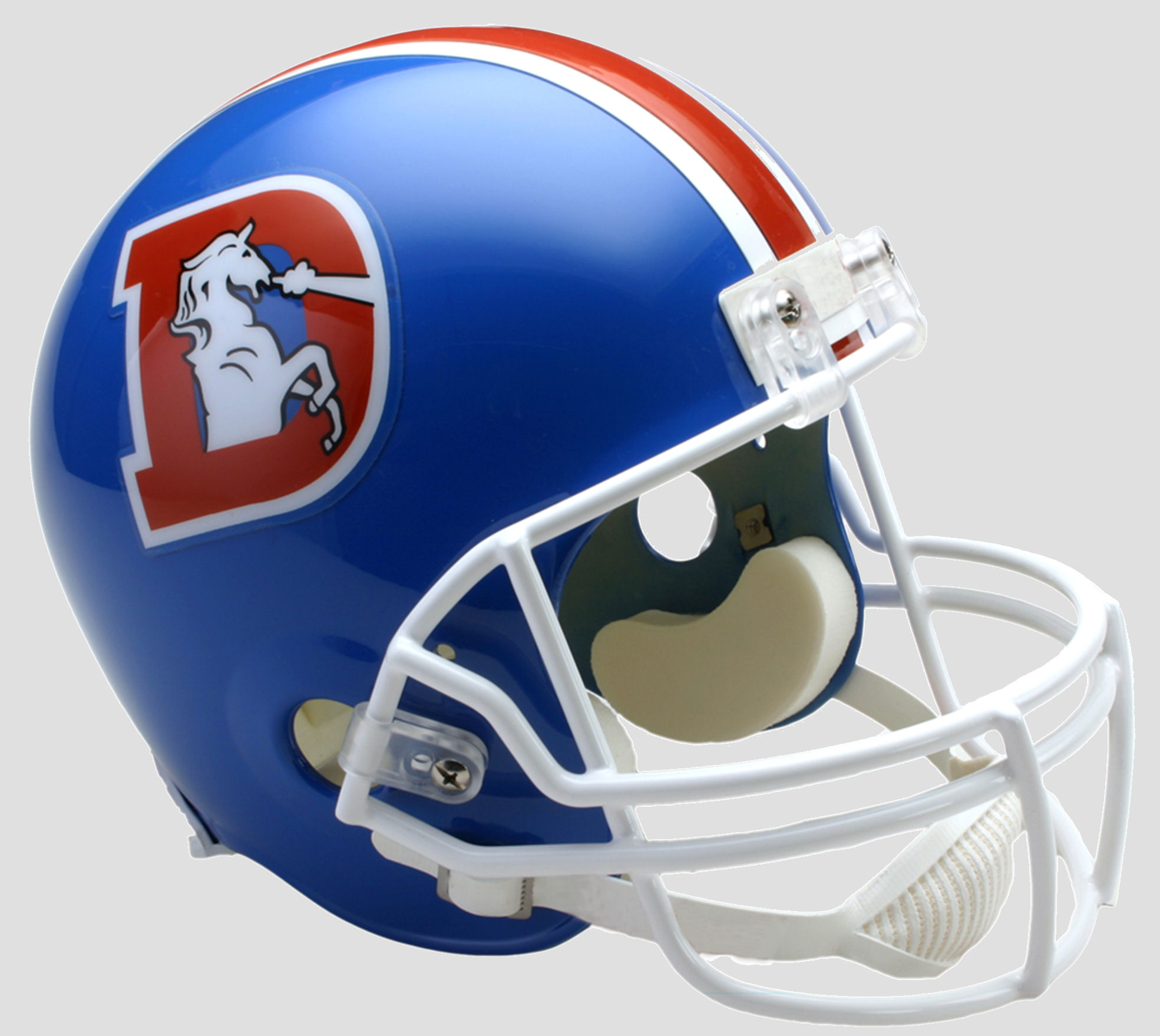 Denver Broncos 1975 to 1996 Full Size Replica Throwback Helmet