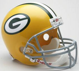 Green Bay Packers 1961 to 1979 Full Size Replica Throwback Helmet
