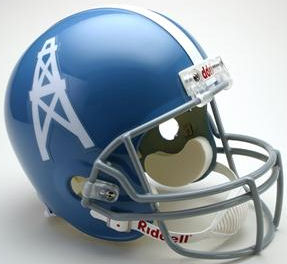 Houston Oilers 1960 to 1962 Full Size Replica Throwback Helmet
