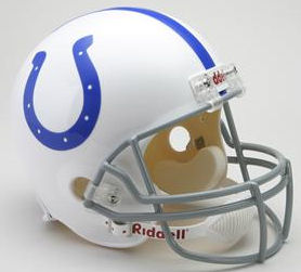 Indianapolis Colts 1959 to 1977 Full Size Replica Throwback Helmet