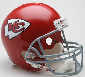 Kansas City Chiefs 1963 to 1973 Full Size Replica Throwback Helmet
