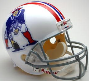 New England Patriots 1965 to 1981 Full Size Replica Throwback Helmet