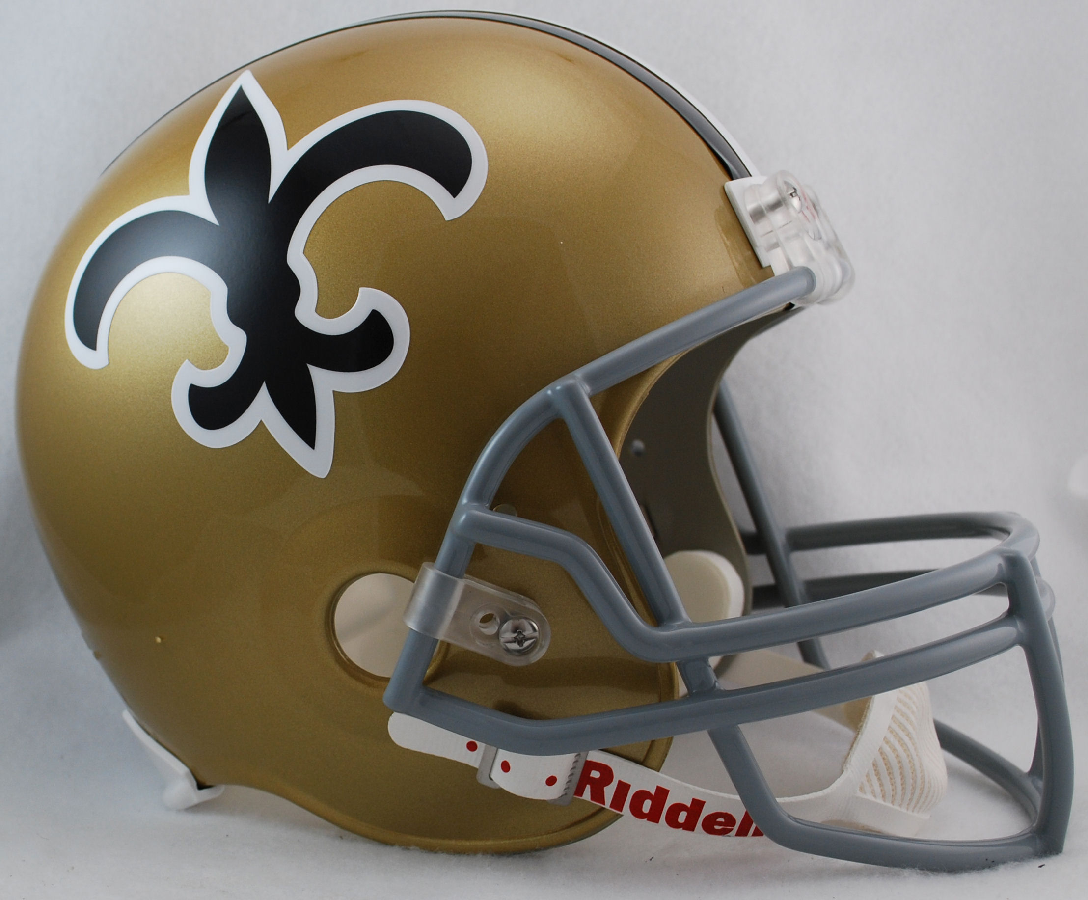 New Orleans Saints 1967 to 1975 Full Size Replica Throwback Helmet