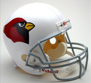 Arizona Cardinals 1960 to 2004 Full Size Replica Throwback Helmet