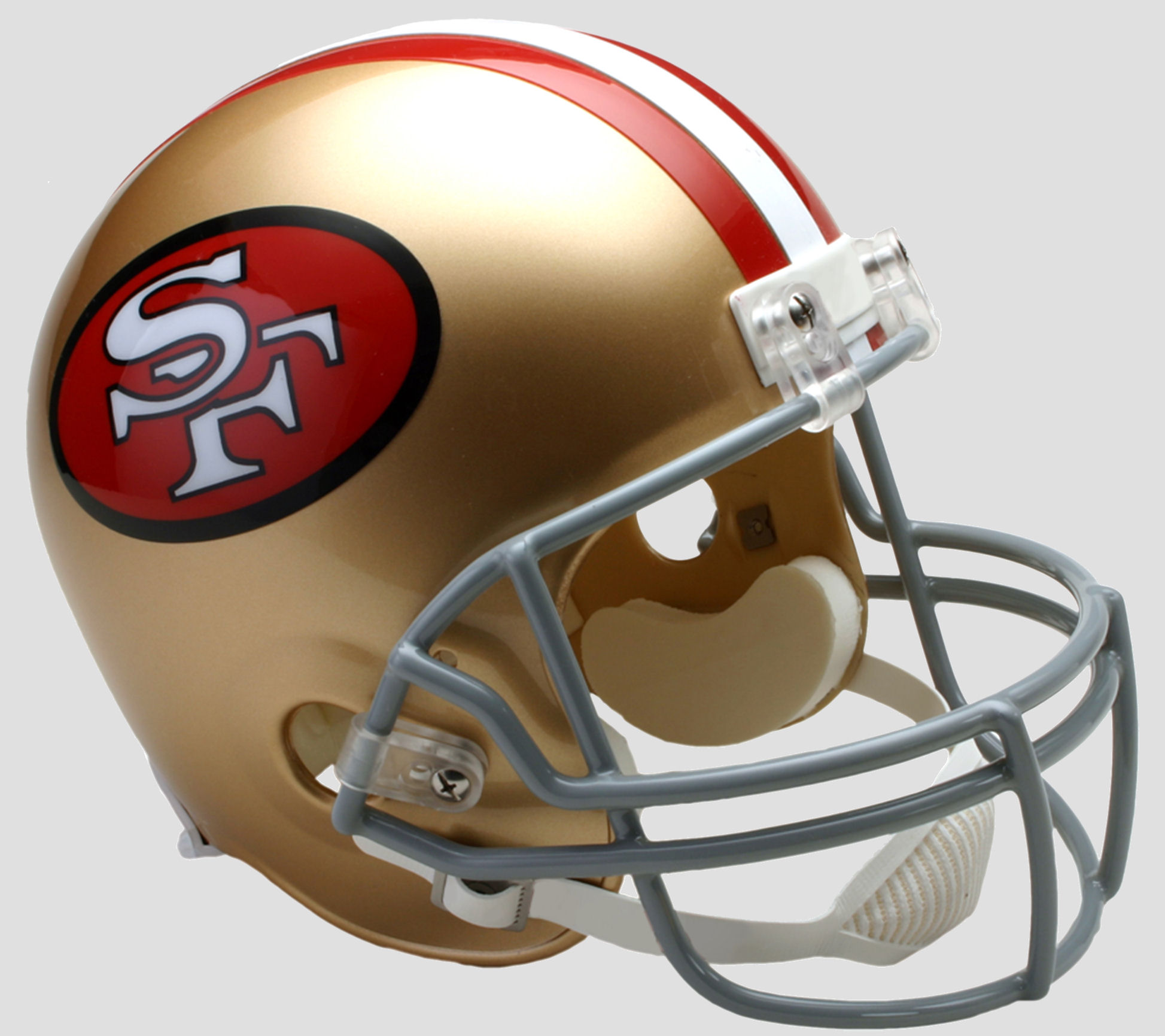 San Francisco 49ers 1964 to 1995 Full Size Replica Throwback Helmet