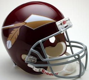 Washington Redskins 1965 to 1969 Full Size Replica Throwback Helmet