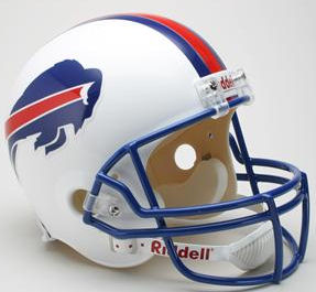 Buffalo Bills 1976 to 1983 Full Size Replica Throwback Helmet
