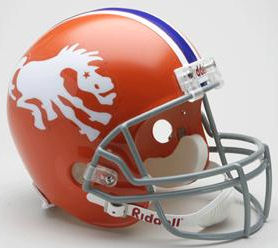 Denver Broncos 1966 Full Size Replica Throwback Helmet