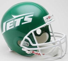 New York Jets 1978 to 1989 Full Size Replica Throwback Helmet