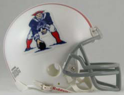 New England Patriots 1961 to 1964 Full Size Replica Throwback Helmet