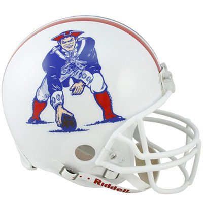 New England Patriots 1982 to 1989 Full Size Replica Throwback Helmet