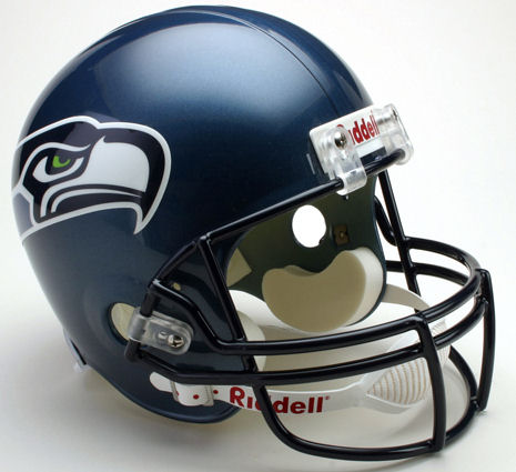 Seattle Seahawks 2002 to 2011 Full Size Replica Throwback Helmet