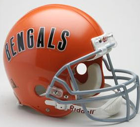 Cincinnati Bengals 1968 to 1979 Football Helmet