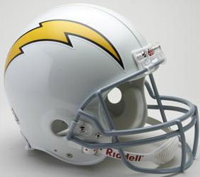 San Diego Chargers 1961 to 1973 Football Helmet