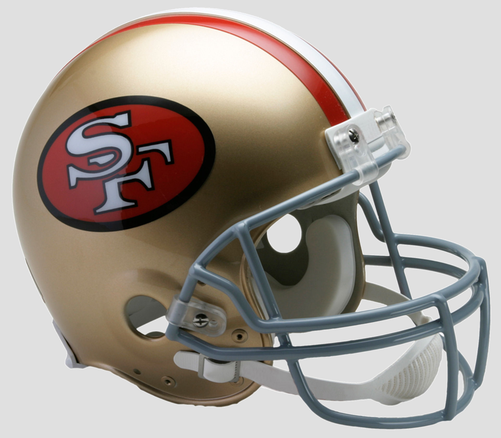 San Francisco 49ers 1964 to 1995 Football Helmet