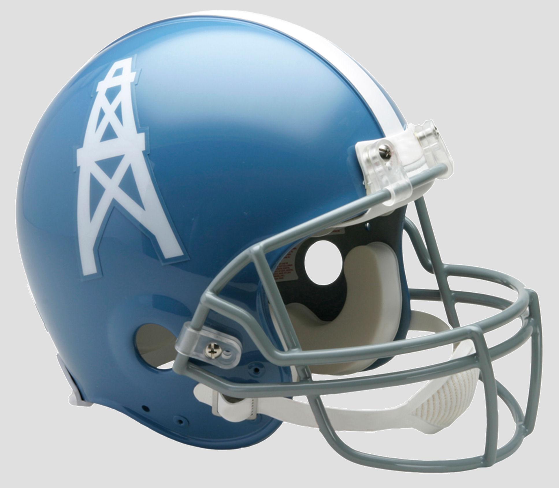 Houston Oilers 1960 to 1962 Football Helmet