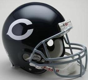 Chicago Bears 1962 to 1973 Football Helmet
