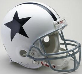 Dallas Cowboys 1960 to 1963 Football Helmet