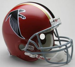Atlanta Falcons 1966 to 1969 Football Helmet